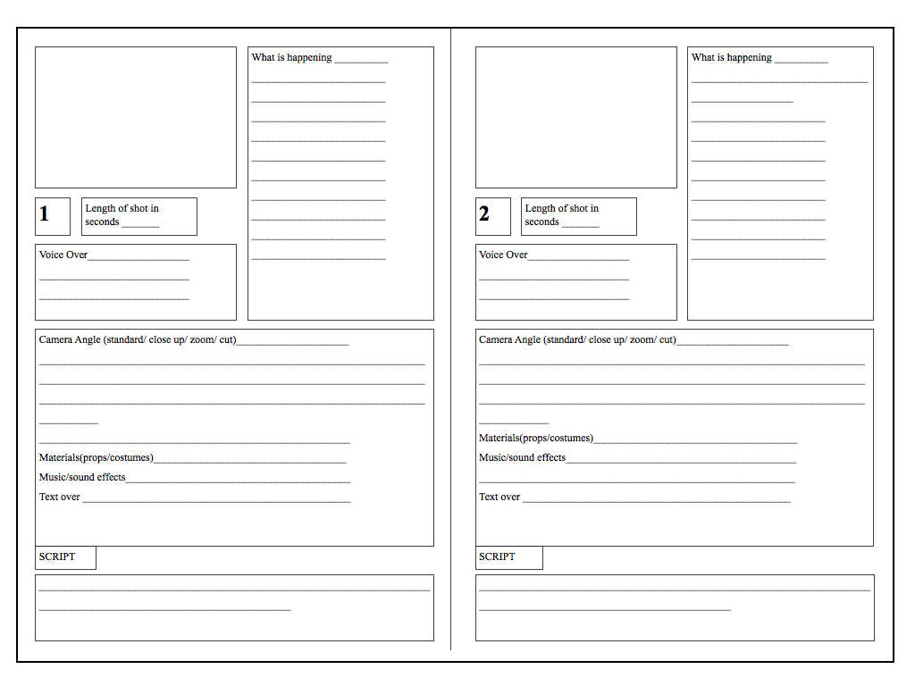 Storyboard Template Vertical Storyboard.001